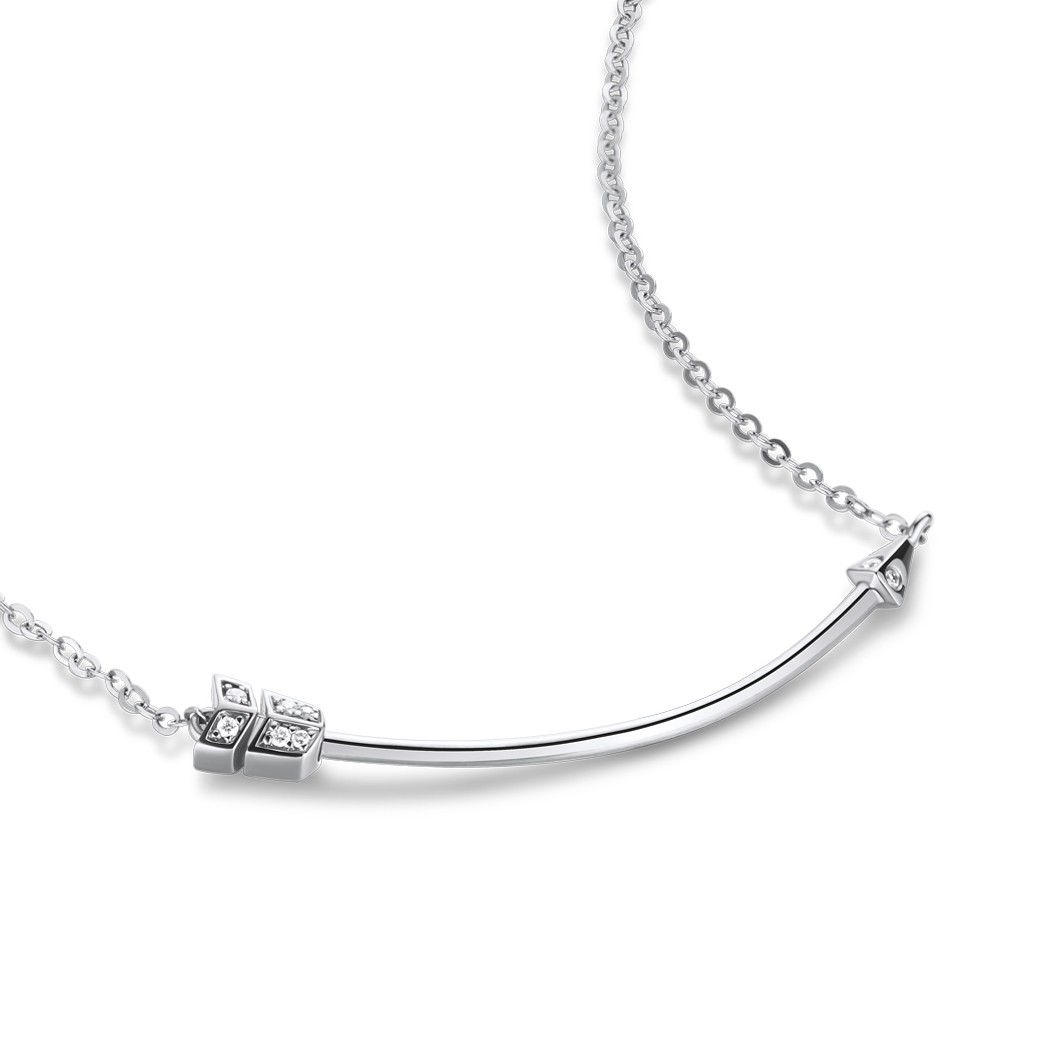 Aim To Be Arrow Necklace